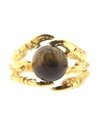 Tessa Metcalfe | Brown Gold Pearl Of London With Tigers Eye | Lyst