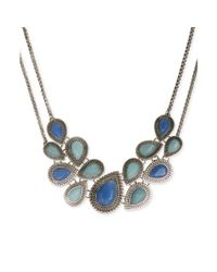 Lucky Brand | Blue Jade Turquoise Collar Necklace | Lyst