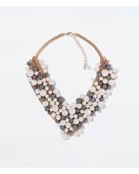 Zara | Multicolor Rhinestone Necklace | Lyst
