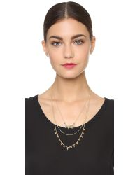 Adia Kibur | Metallic Natalie Necklace - Gold | Lyst