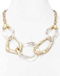 Alexis Bittar | Multicolor Lucite Liquid Link Necklace 20 | Lyst