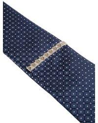 Eddie Borgo - Metallic Large Pyramid Tie Clip for Men - Lyst