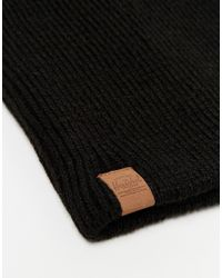 Herschel Supply Co. - Black Plains Beanie for Men - Lyst