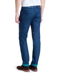 Ted Baker Blue T For Tall Durham Slim Jeans for men