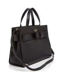 kate spade new york - Black Poplar Street Shelley Satchel - Lyst