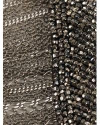 Jean-Francois Mimilla - Black Collar Necklace - Lyst