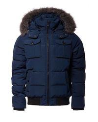 Tommy Hilfiger Blue Darren Bomber Jacket for men