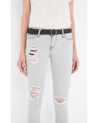 IRO | Gray Jarod Ajusted Jeans | Lyst