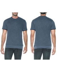 Joe's Jeans - Blue Caspian Crew Neck Tee for Men - Lyst