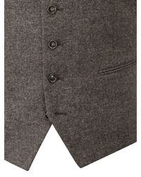 Skopes Brown James Suit Waistcoat for men