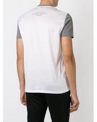 Neil Barrett Gray Split Portrait T-Shirt for men