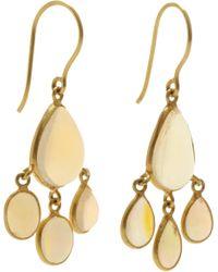 Pippa Small | Yellow Opal Urchin Earrings | Lyst
