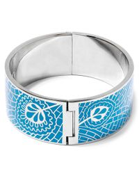 Liberty - Blue Teal Hera Solid Cuff - Lyst