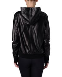 The Row - Black Leather Outerwear - Lyst