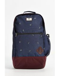 Vans | Blue Doren Ii Printed Backpack for Men | Lyst