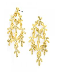 BaubleBar | Metallic Starfish Drops | Lyst
