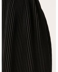 J.W.Anderson - Black Accordian Pleats Skirt - Lyst