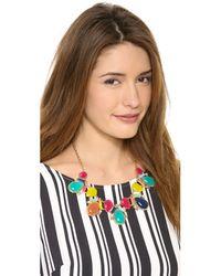 kate spade new york - Multicolor Almalfi Mosaic Short Necklace - Lyst
