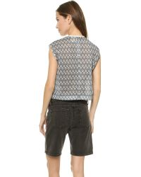 O'2nd Gray 1 By Frozen Print Crop Top