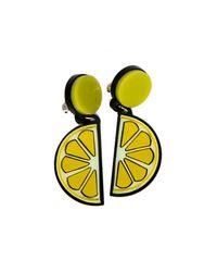 Yazbukey Yellow Lemon Earring
