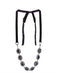 'S Max Mara | Blue Zampa Necklace | Lyst