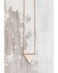 Forever 21 | Metallic Shashi Arrow Pendant Necklace | Lyst