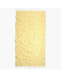Madewell Yellow Turkish-T&Reg; Beach Candy Towel