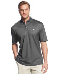 Tommy Bahama - Black Double Eagle Spectator Performance Polo for Men - Lyst