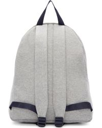 Joshua Sanders Gray Grey Jersey Ny Backpack for men