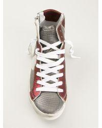 Philippe Model Natural 'alta' High Top Sneakers