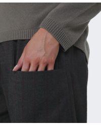 Oska   Brown Laika Wool Check Trousers   Lyst