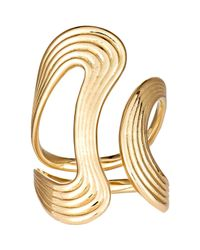 Fernando Jorge | Metallic Women's Stream Lines Open Ring | Lyst