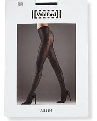 Wolford | Blue Aileen Tights | Lyst