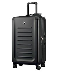 Victorinox - Black 'spectra 2.0' Hard Sided Rolling Travel Suitcase for Men - Lyst