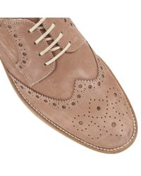 Lotus | Brown Sandford Lace Up Casual Brogues for Men | Lyst