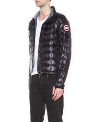 Canada Goose - Black Hybridge Lite Nylon Jacket - Lyst