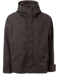 Yeezy - Black Adidas Originals By Kanye West Hooded Jacket for Men - Lyst