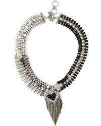 Iosselliani - Metallic 'Metal Instinct' Necklace - Lyst