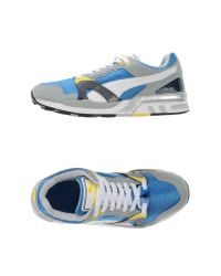 PUMA Blue Low-tops & Trainers for men