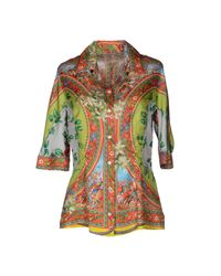 Dolce & Gabbana Green Shirt