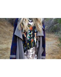 Love Leather - Multicolor Chrome Forest Necklace - Lyst