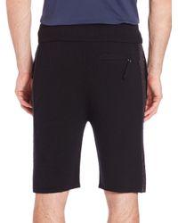 Helmut Lang - Black Cashmere Shorts for Men - Lyst