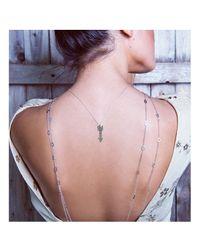 Adornia | Metallic Champagne Diamond Aragon Necklace | Lyst