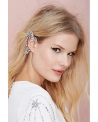 Nasty Gal | Metallic Juana Ear Cuff | Lyst