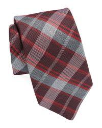 Michael Kors | Purple Plaid Tie for Men | Lyst