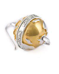 True Rocks | Metallic Globe Drop Earrings | Lyst