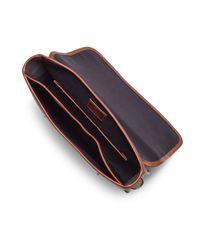 Brooks Brothers - Brown Jw Hulme Brief Bag for Men - Lyst