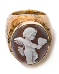 Amedeo - Brown Love Ring - Lyst
