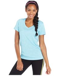 Under Armour | Blue Under Amour Ua Tech™ Twist V-neck Tee | Lyst