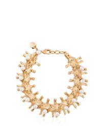 Schield | Metallic Backbone Bracelet | Lyst